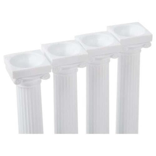 127mm Grecian Pillars 4 pack