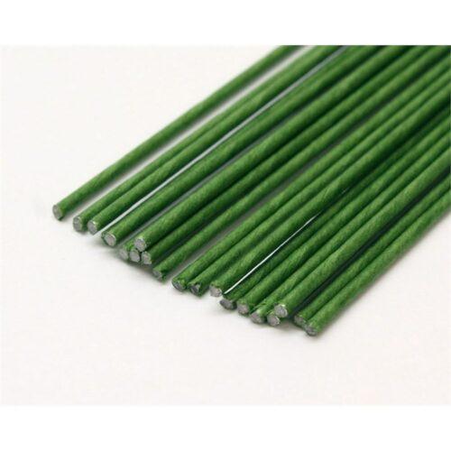 20 gauge dark green florist wire