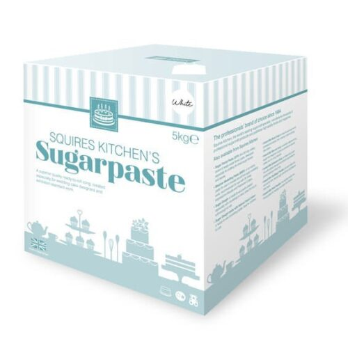 Squires Kitchen Bridal White SugarPaste 5kg