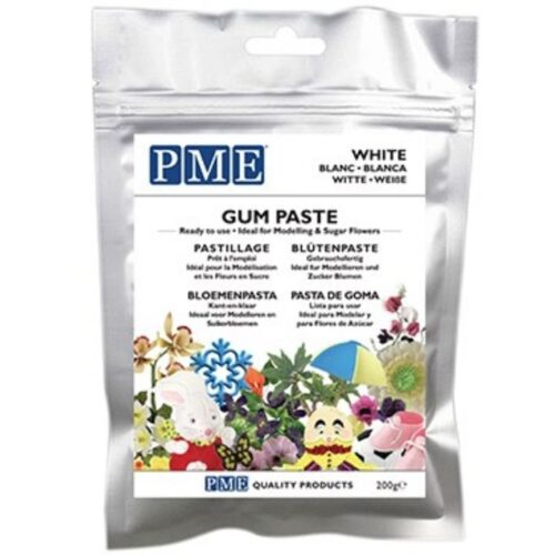 White Gum Paste 200g PME