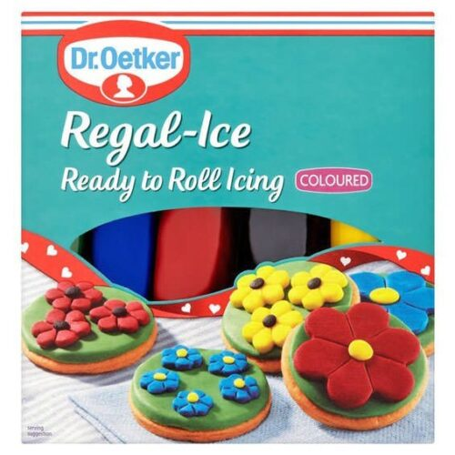 Dr Oetker Ready to Roll Coloured Icing Sugarpaste
