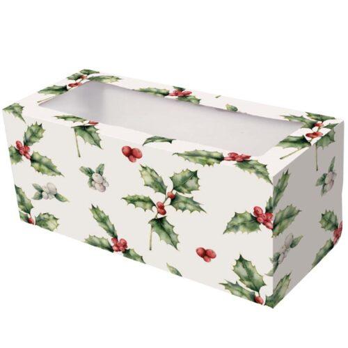 Holly Log Box 8x8x4