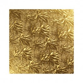 """gold 10"""" double thick cake card"""