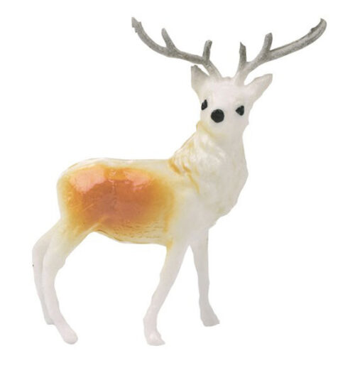 plastic reindeer cake topper