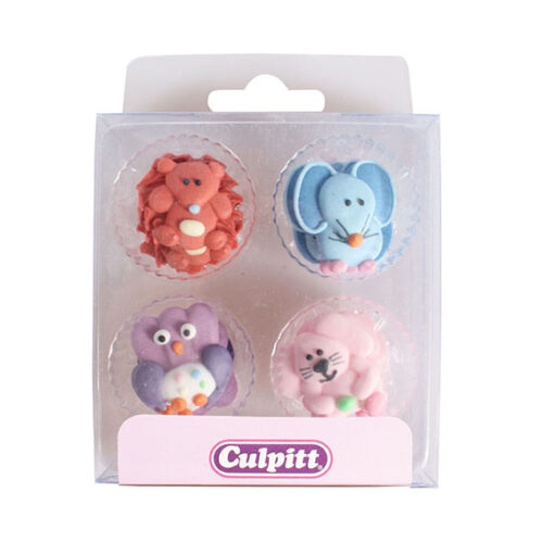 Baby Animal sugar piping