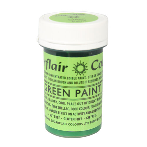 green edible paint