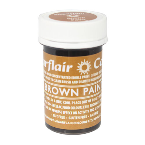 brown edible paint sugarflair
