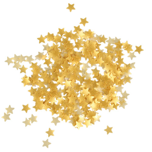 Metallic Gold Stars from Sugarflair