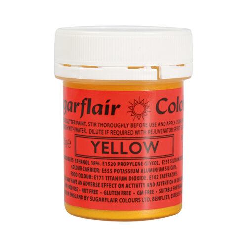 yellow-glitter-paint