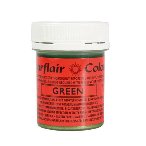 green-glitter-paste
