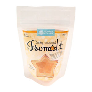 Squires Ready Tempered Gold Sparkle Isomalt