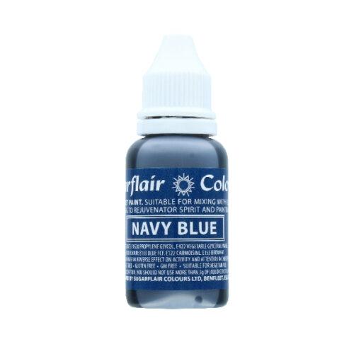 Navy-Sugarflair-sugartint -droplet