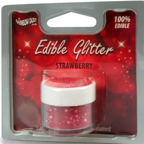 Edible Glitter Strawberry RP