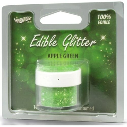 Edible Glitter Apple Green RP