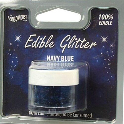 Edible Glitter Navy Blue RP