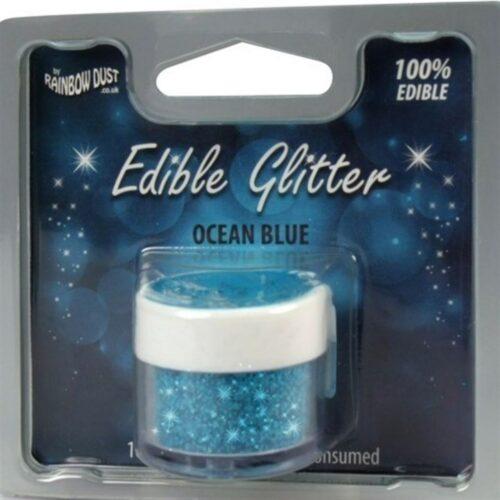 Edible Glitter Ocean Blue RP
