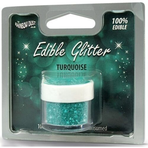 Edible Glitter Turquoise RP