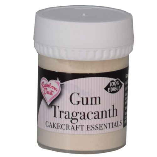 edible gum tragacanth rainbow dust 25g