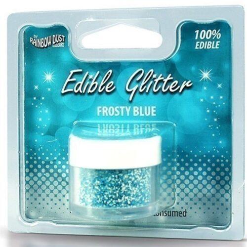 Edible Glitter Frosty Blue RP