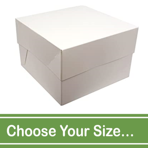 white boxes base and lid