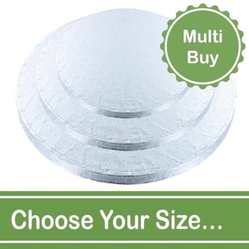 round 12mm cake drum multi bulk buy