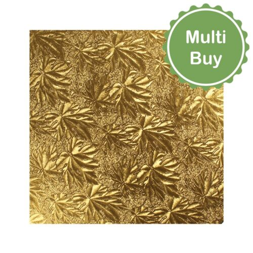"""gold 10"""" double thick cake card multi bulk buy"""