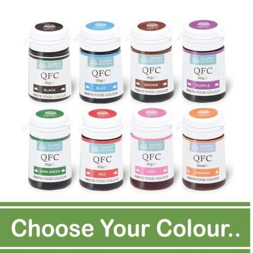 QFC Paste Colours