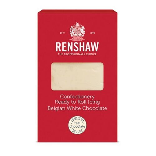 Renshaw Confectionery Ready To Roll Icing White Chocolate 1kg