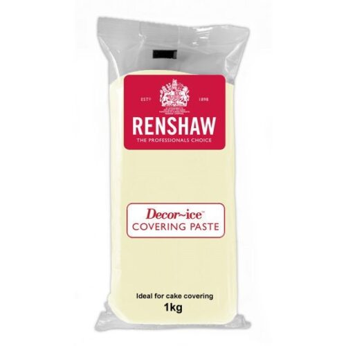 Renshaw Covering Paste Ready to Roll Icing Ivory 1kg