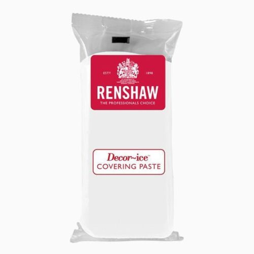 Renshaw Covering Paste Ready to Roll Icing White 1kg