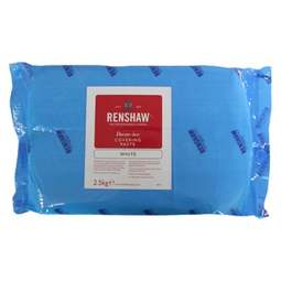 Renshaw Covering Paste Ready to Roll Icing White 2.5kg