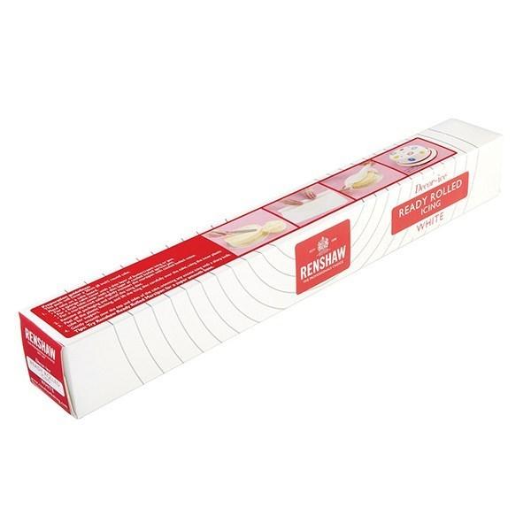 Renshaw Ready Rolled White Sugar Paste Icing - 450g