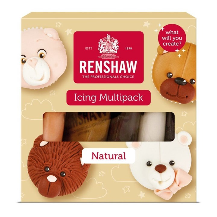 Renshaw Ready to Roll Sugarpaste Naturals - Multipack