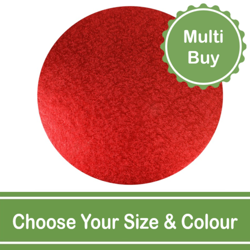 Round Colour Cake Drum Multi Bulk Buy