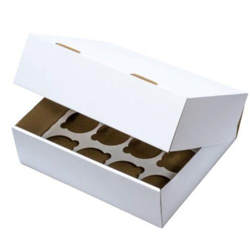 12 Hole Cupcake Box Heavy Duty