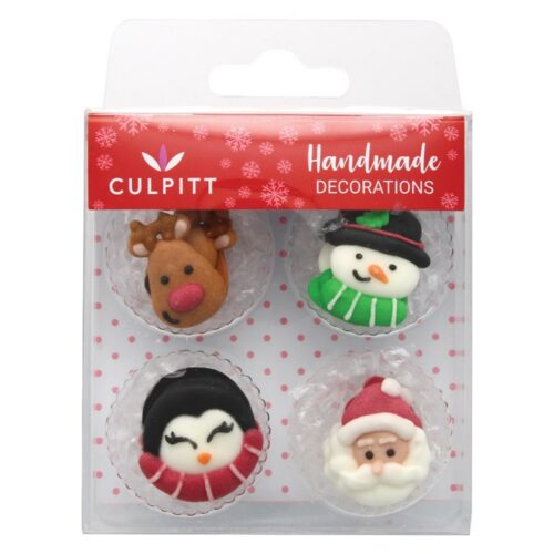 Culpitt Sugar Decorations Christmas Favourites - Single