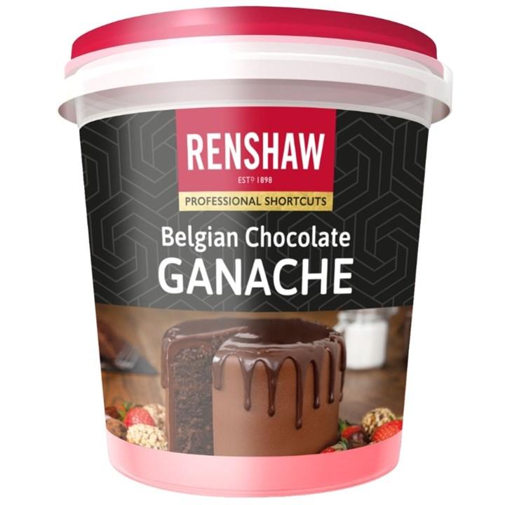 Renshaw Belgian Chocolate Ganache - 350g
