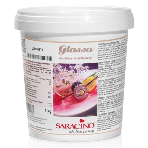 Saracino Mirror Glaze 1kg - Clear