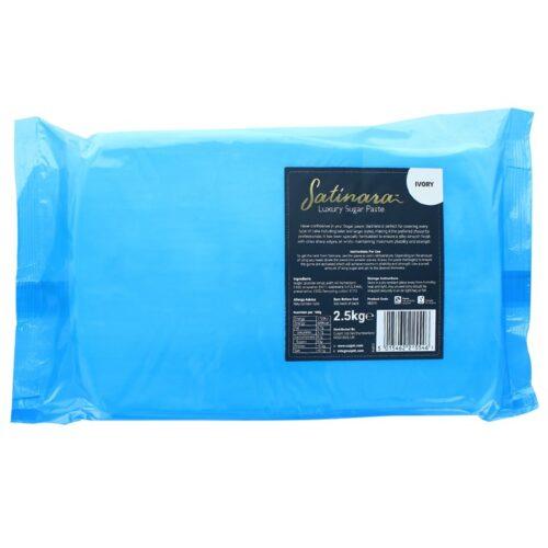 Satinara Luxury Sugar Paste 2.5kg - Ivory