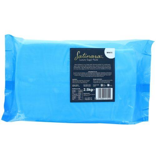 Satinara Luxury Sugar Paste 2.5kg - White